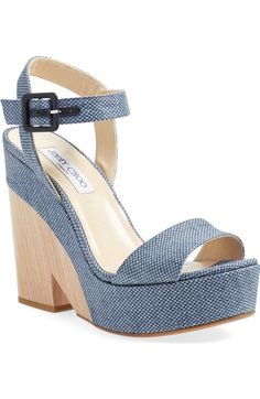 Jimmy Choo 'Nico' Wedge Sandal (Women) available at #Nordstrom