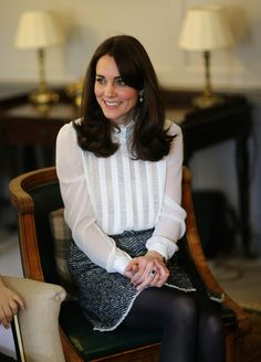 The Duchess Of Cambridge Guest Edits The Huffington Post - February 17, 2016
