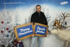 Introducing the new Samsung Galaxy and a nousy reindeer. http://janholmberg.weebly.com/in-english.html