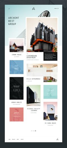 Architecture – Free Website Template PSD and Sketch