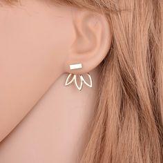 Kolczyki za ucho Silvona