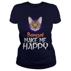 Bengal Cat Make Me Happy