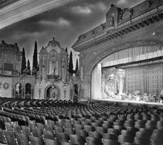 Loew's Theatre, Louisville, Kentucky, 1937.  The most beautiful theater I've ever been in. Now known as the Louisville Palace.