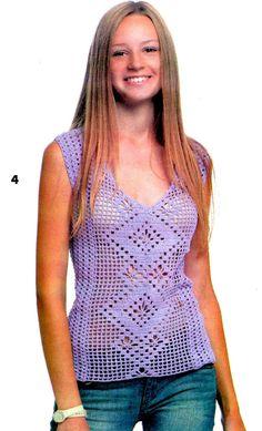 Crochetemoda: Regata de Crochet