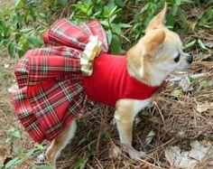 Cuadros de Navidad flor chica perro perro de la por rufflerunway