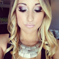 Makeup Mac girl selfie pretty ombré ombre hair long brunette