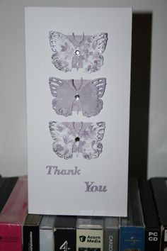 My butterfly die cutter