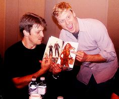 Nathan Fillion and Alan Tudyk Kinds Of People, People Like, Sci Fi Tv, Nathan Fillion, Firefly Serenity, Joss Whedon, Best Series, Inevitable, Favorite Tv Shows