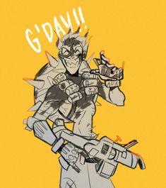 Overwatch - Junk wishes G'Day junkrat Overwatch Comic, Overwatch Memes, Overwatch Reaper, Junkrat Fanart, Jamison Fawkes, Junkrat And Roadhog, Widowmaker, Gaming, Indie Games