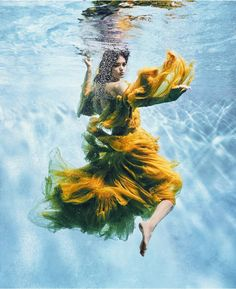 Wanessa Nilhomem in 'Making Waves' By Carlos Serrao For Harper's Bazaar US November 2016