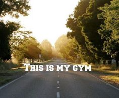 ok, i also go to the gym. but still, i'm a runner. this works just as well. :)