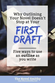 An outline is one of the best tools in your writing arsenal, both when creating your story and for your productivity as a writer. Writing Advice, Editing Writing, Pre Writing, Writing Process, Start Writing, Writing Resources, Writing Help, Writing A Book, Writing Humor