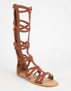 896821ee0079 BAMBOO Crossing Womens Gladiator Sandals Gladiator Sandals