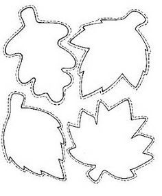 maple leaf template - Google Search