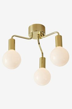 Markslöjd History Loftlampe 3L  - Messing - Bolig & indretning - Ellos.dk