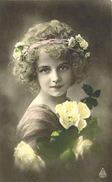 Image detail for -Picture of Victorian era woman with curly hair style Vintage Girls, Vintage Children, Vintage Surf, Vintage Glam, Vintage Pictures, Vintage Images, Victorian Hairstyles, Little Shop Of Horrors, Foto Real