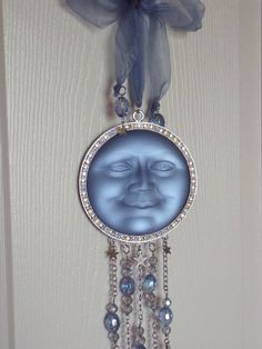 KIRKS FOLLY SEAVIEW MOON ORNAMENT-ONE OF A KIND! #KirksFolly