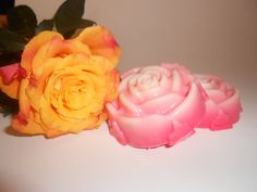 Mothers Day Gift Soaps / Aroma of Wild Berries / Rose by irusja, €2.50