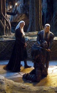 Thandruil & Legolas, The Hobbit