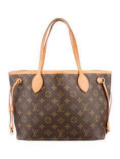 HIS BAGS ARE SO UGLY, BROWN TAN TACKY YUCK..FEW LOOK PRETTY,,THIS IS ONE UGLIEST LEATHER BAGS EVER MADE,,I WOD NOT HAVE SUCH UGLY PRINT NEAR ME ,WAKE UP WOMEN LOL..Louis Vuitton Monogram Neverfull PM