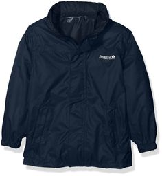 Regatta Kid's Pack-it Outdoor Adventure Walking Jacket 2 Years Midnight. Waterproof, Breathable And Lightweight Fabric To You Dry And Comfortable Outdoors. Taped Seams Prevent Water Seeping Inside To Stay Dry. Storm Flap Covers Front Zip Maximise Dryness Inside The Jacket. Comes With 2 Lower Pockets With Hook And Loop Fastenings. Packable - Designed To Pack Away Into It's Own Pocket Or Stuff Sack.