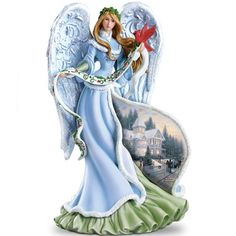 Thomas Kinkade Holly Angel Figurine Bradford Exchange   http://www.amazon.com/dp/B006PKFJUK/ref=cm_sw_r_pi_dp_TBwvub0CSD17C