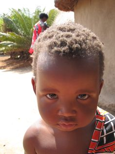 child in Swaziland, Africa