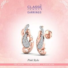 Gold Diamond Earrings, Gold Coins, Pink, Place Card Holders, Jewels, Stylish, Accessories, Collection, Design