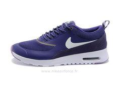 4675e2a2a8d Nike Air Max Thea Pas Cher Femme Purple Blanc Air Max Thea Femme Grise Nike  Thea