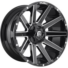 FUEL® - CONTRA Gloss Black with Milled Accents. The wheel can be ordered in diameters. Choose your rim width, offset, bolt pattern and hub diameter from the option list. Off Road Wheels, Wheels And Tires, 20 Wheels, Dodge, Truck Rims, Jeep Truck, Gmc Trucks, Wheel And Tire Packages, Aftermarket Wheels