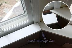 Building a Window Seat with Storage in a Bay Window - Pretty Handy Girl Window Seat Storage, Storage Bench Seating, Window Seats, Bedroom Window Design, Bay Window Benches, Banquette Seating In Kitchen, Ashley Furniture Chairs, Classic Window, White Leather Dining Chairs