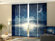 Set of 4 Panel Curtains Starry Night  #Wellmira #ModernCurtains #PanelCurtains #Curtains #JapaneseCurtains #Fotogardine #Schiebevorhang #Flächenvorhang #Schiebegardine #Night https://wellmira.com/collections/sets-of-4-panel-curtains/products/set-of-4-panel-curtains-starry-night?variant=25689866375