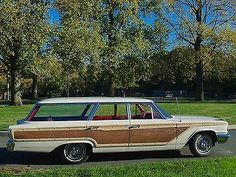 1963 Ford Country Squire Sation Wagon.