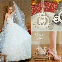 Cinderella wedding,  ballgown wedding dress, princess wedding