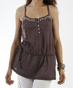 Another great find on #zulily! Purple Orchid Mist Sleeveless Tunic #zulilyfinds