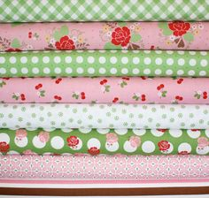 sew cherry by lori holt in pink