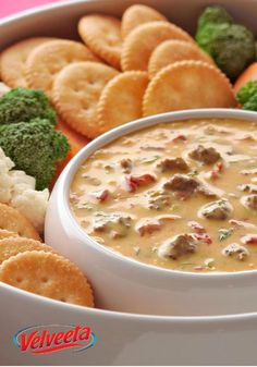 VELVEETA Spicy Cheeseburger Dip — There may be a game on TV, but you and your . - VELVEETA Spicy Cheeseburger Dip — There may be a game on TV, but you and your spicy appetizer rec - Spicy Appetizers, Appetizer Dips, Appetizer Recipes, Party Appetizers, Kraft Recipes, Dip Recipes, Cooking Recipes, Cooking Sauces, Bbq Sauces