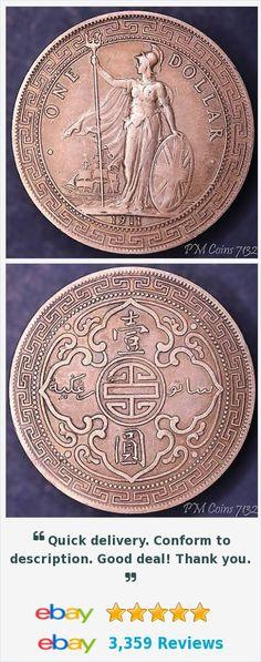 1911 Hong Kong Trade dollar coin [7132] http://m.ebay.co.uk/itm/401185713853?_mwBanner=1