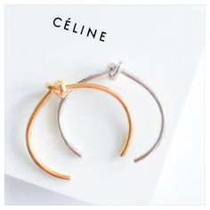 Bracelets Knot Celine Doré et Argenté