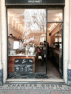 As various coffee shops have various designs, cozy decorative ideas won't be similar. There are a number of different tips for coffee shop design and decorations that you can see here. Cozy Coffee Shop, Coffee Shop Design, Design Café, Store Design, Cafe Bar, Restaurant Design, Restaurant Bar, Deco Cafe, Cafe Exterior