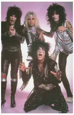 Motley Crue Rebel Rock! Music Poster 11x17