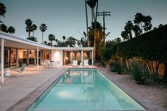 Before & After: Palm Springs Party Pad Becomes a Sleek Retreat - Sunset Magazine