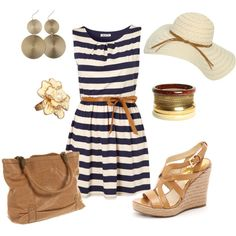 Summer fun, created by kahaas10 on Polyvore