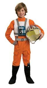 Amazon.com: Star Wars Childs X-Wing Pilot Costume, Small: Toys & Games
