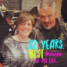 22 years. Best ever. Here's to many more my darling heart