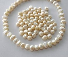 AA 10-11mm Deep gray nugget freshwater pearls,rregular Beads for Pearl Necklace