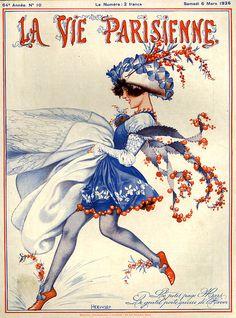 1920s France La Vie Parisienne