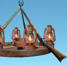 Wagon Wheel Chandeliers And Lighting | Chandeliers | Western Lighting |  Custom Chandeliers |