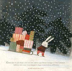 manon gauthier: Éditions Les 400 coups / carte de Noel / Christmas...