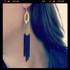 Lilith Fringe Earrings | Stella & Dot